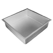 Fat Daddio Sq Pan Solid Bottom 12x12x3