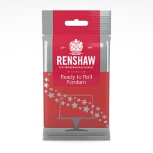 Renshaw Fondant: Red 8.8 Oz
