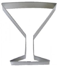 R & M International Metal Cutter: Martini Glass