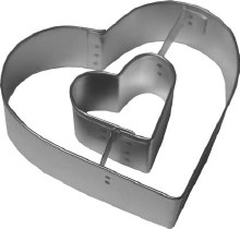 R & M International Metal Cutter: Heart In Heart