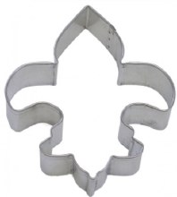 R & M International Metal Cutter: Fleur De Lis