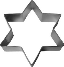R & M International Star Of David Cookie Cutter