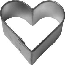R & M International Metal Cutter: Plain Heart