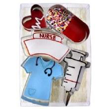 Nurse Cookie Cutter 5 Pc Set