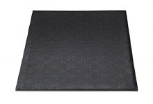 Whalen 10x10 Black Squaredrum1/2thick