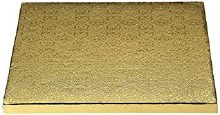 Whalen 10x10 Gold Square Drum1/2thick
