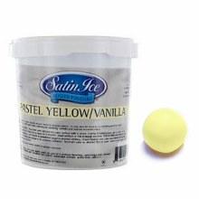 Satin Ice Yellow Vanilla Fondant - 2lb