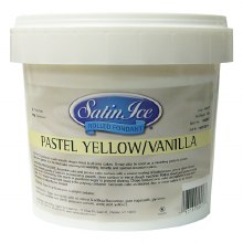 Satin Ice Yellow Vanilla Fondant - 5lb