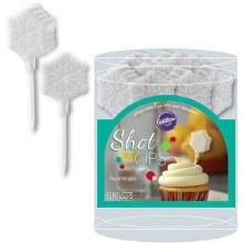 Wilton Snowflake Shot Tops Flavor Inf