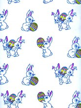 Basket Bags: Bunny Holding An