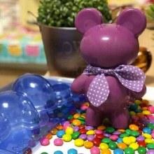 Teddy Bear 3pc. Mold