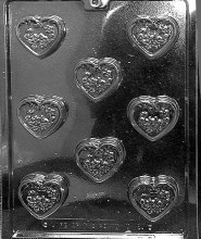 Life of the Party Decorated Heart Mints