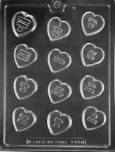 Life of the Party Candy Hearts With Sayings