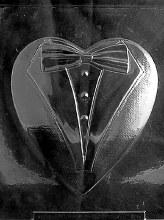 Life of the Party Pour Tuxedo Heart Top (xl)