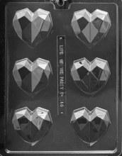 Geometric Heart Mold