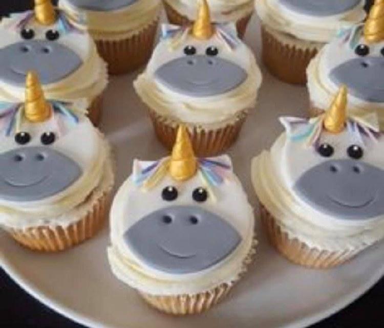 Supply Kit For Unicorn Cupcake
