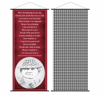 2 Sided Scroll Banner