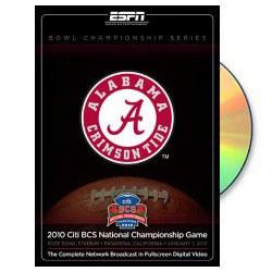 2010 BCS Championship DVD