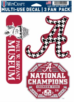 2020 Championship Multi Decal