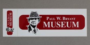 Bryant Museum Decal