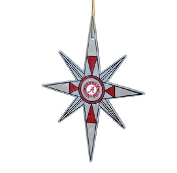 Clear Snowflake Ornament