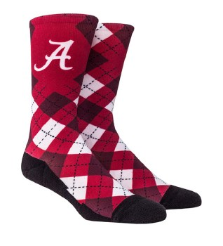 Dark Argyle Socks L/xl