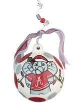 Crimson Tide Christmas Ball