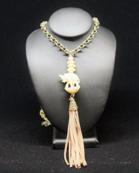 Blush Tassel Necklace