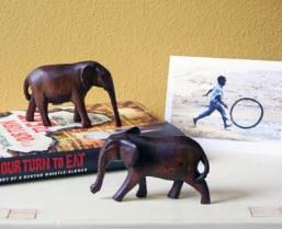 Kenyan Wooden Elephant