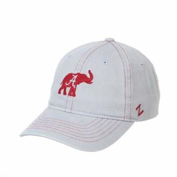 Lt Grey W/red Elephant