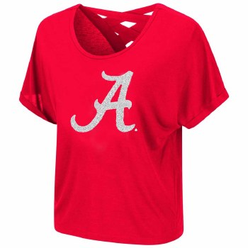 Lucy Strappy Tee 2xl Red