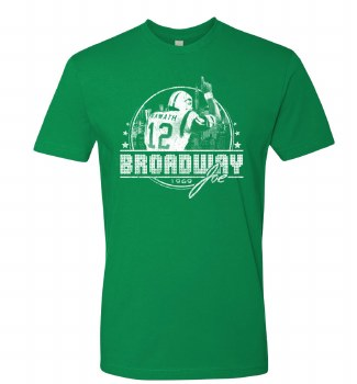 Mens Broadway Lights Med Green