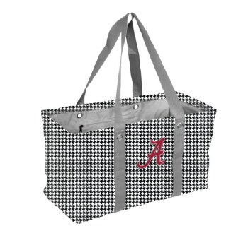 Houndstooth Picnic Caddy