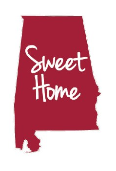 Sweet Home Decal