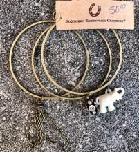 Triple Bracelet Ivory Elephant