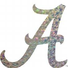 "3"" Holographic Script A"