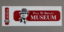 Bryant Museum Decal