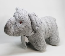 Cable Knit Elephant