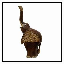"Carved 20"" Elephant"
