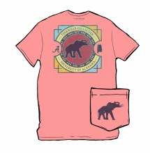 Color Dial Tee Am Pink