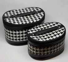 Double Makeup Bag