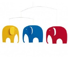 Elephant Party Multi Color