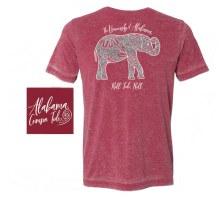 Boho Elephant Sm Red
