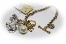Gold/silver Cluster Bracelet