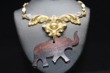 Statement Hardware Necklace