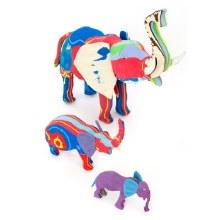 Small Flip Flop Elephant