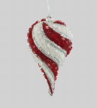 Spiral Encrusted Ornament