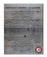 Stadium Seating Chart Sign