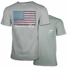 Distressed Flag 2xl Grey