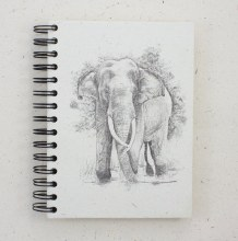 Tusker Elephant Notebook